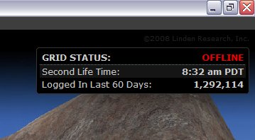 Second Life is Offline