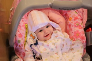 Katie, another friend's baby