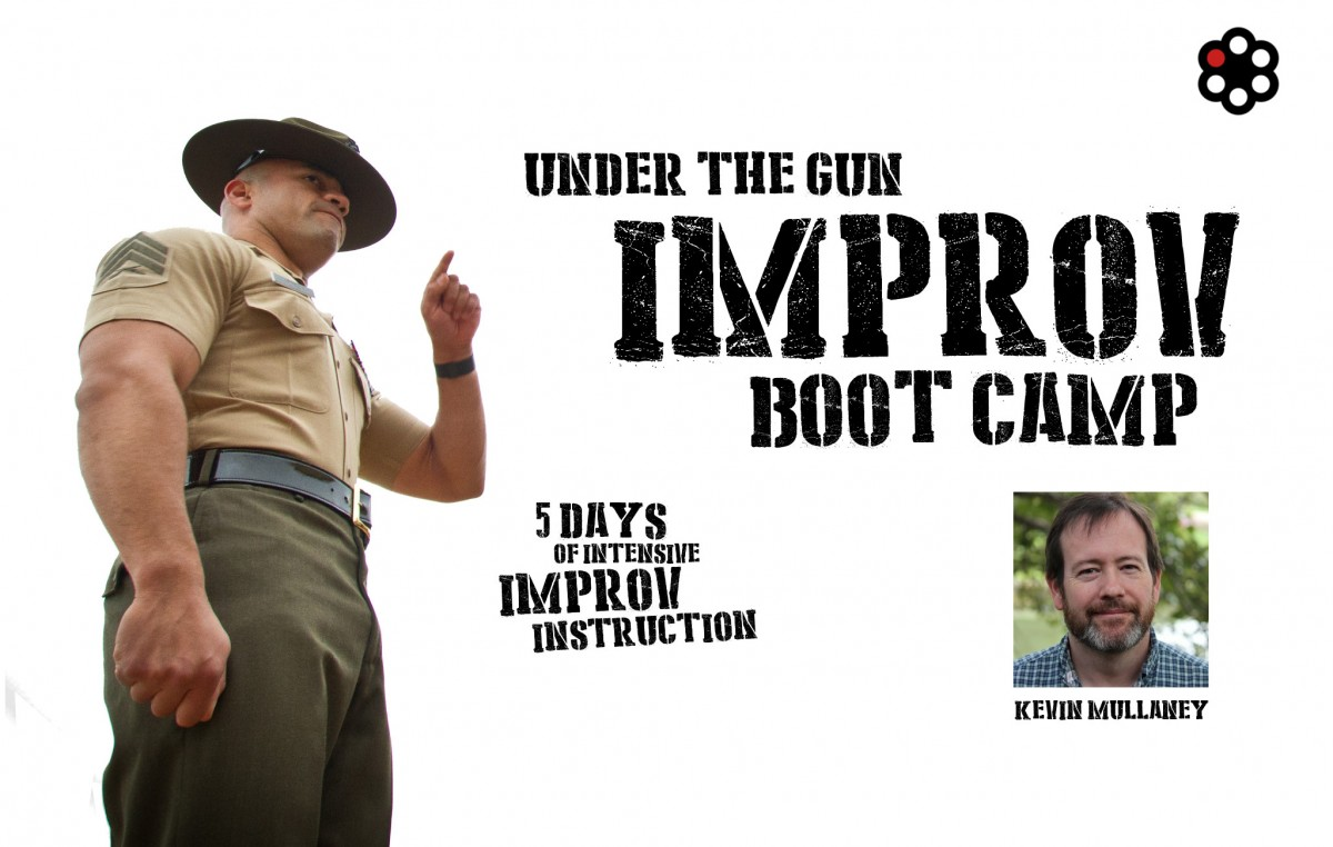 Sign up now for Improv Bootcamp