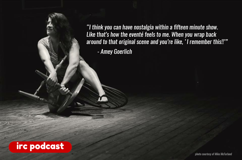 Improv Resource Center Podcast with Amey Goerlich