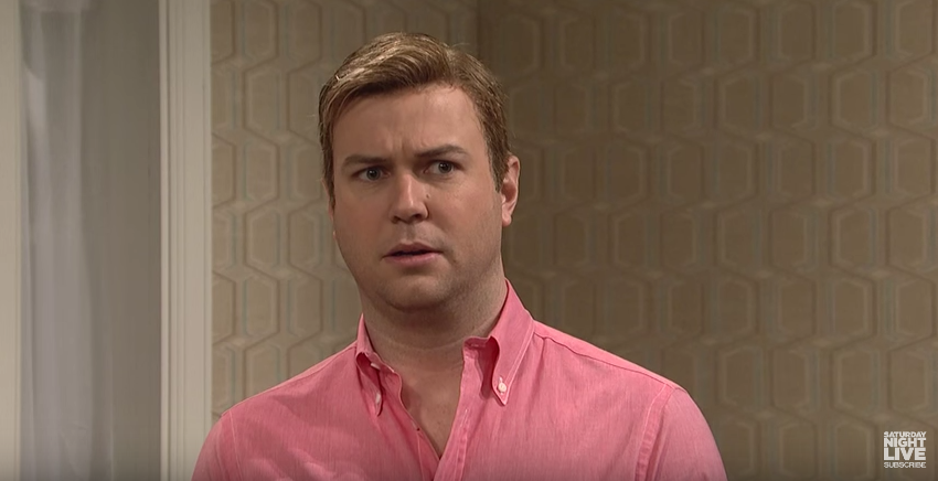 Taran Killam in Kissing Family on SNL