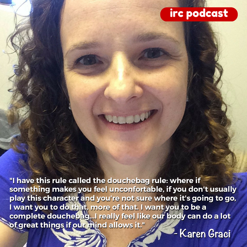 Improv Resource Center Podcast with Karen Graci